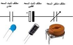 أنواع المكثفات - المكثفات الكهربائية