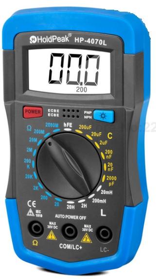 جهاز قياس المحاثة والمواسعة والمقاومة LCR-meter